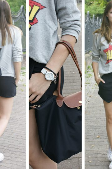 4 Days, 4 Ways: How to wear a Skort – your Fav