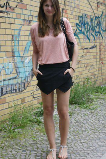 4 Days, 4 Ways: How to wear a Skort #2