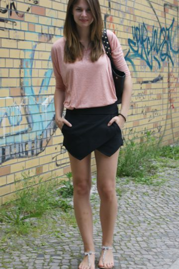 4 Days, 4 Ways: How to wear a Skort #2