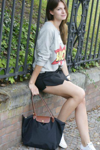 4 Days, 4 Ways: How to wear a Skort #3