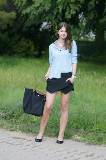 4 Days, 4 Ways: How to wear a Skort #4