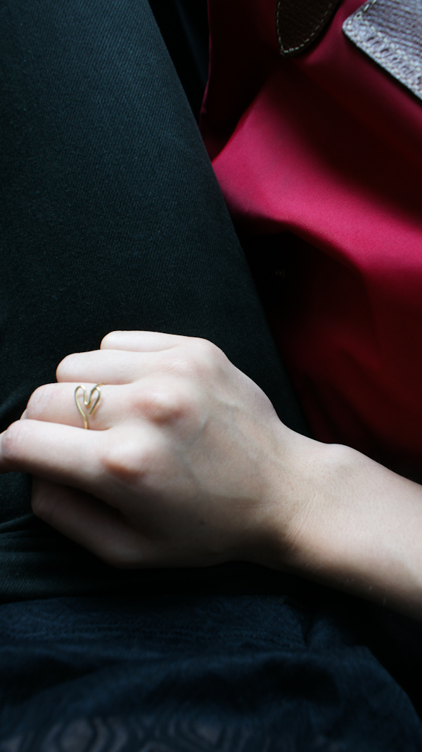 Herz Ring