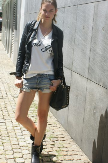 4 Days 4 Ways: Wie trägt man Denim Shorts #4