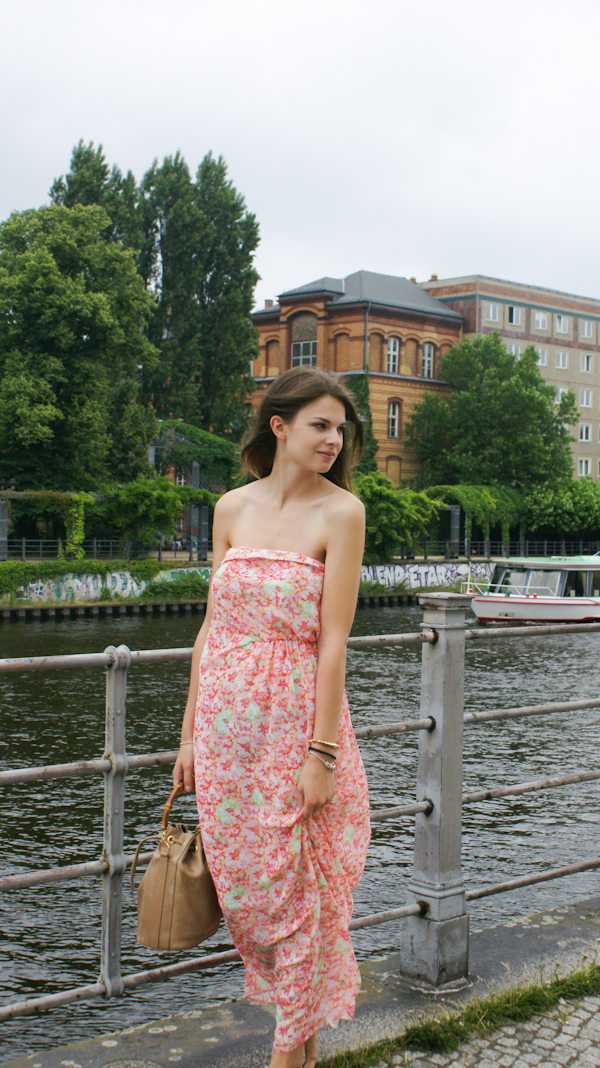 Flowered Maxidress