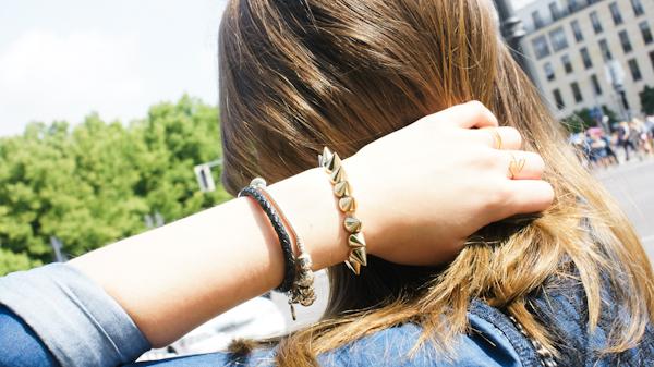 Nieten Armband