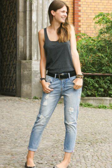 4 Days 4 Ways: Wie trägt man Boyfriend Jeans #1