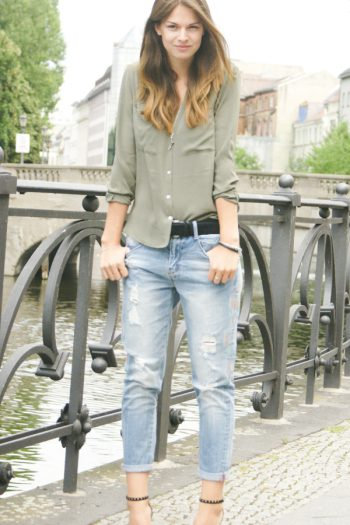 4 Days 4 Ways: How to wear Boyfriend Jeans #2