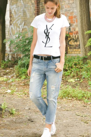 4 Days 4 Ways: How to wear Boyfriend Jeans #3