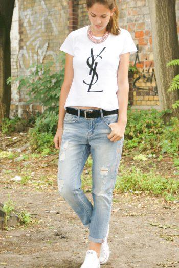 4 Days 4 Ways: Wie trägt man Boyfriend Jeans #3