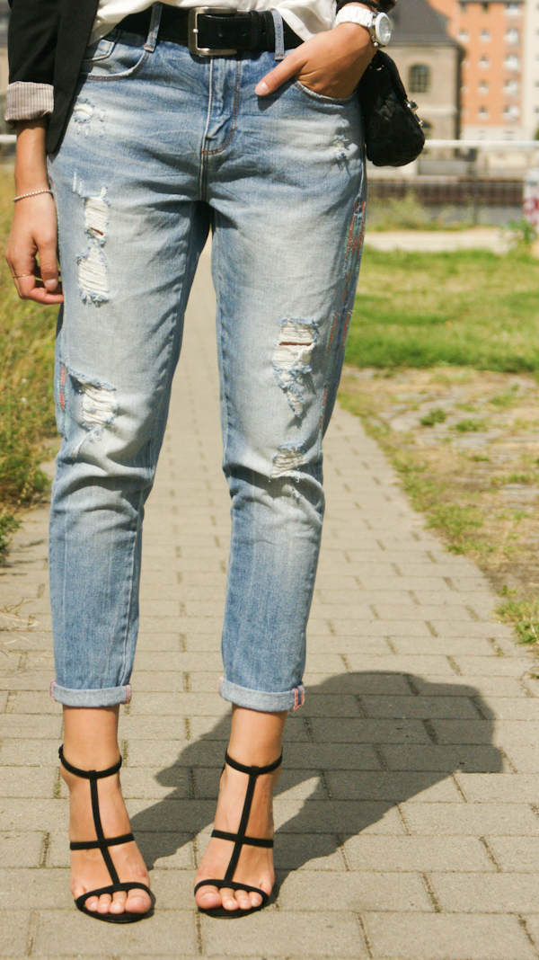 Zara Boyfriend Denim