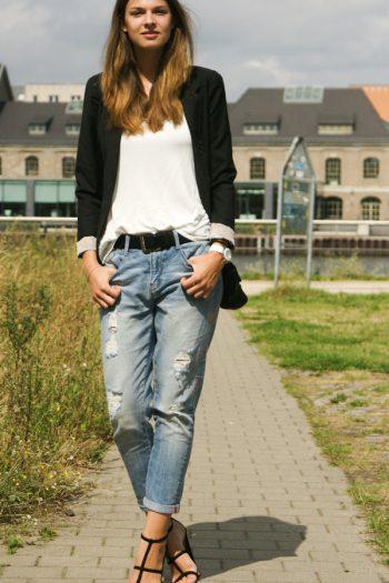 4 Days 4 Ways: Wie trägt man Boyfriend Jeans #4