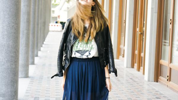 Maxiskirt Outfit