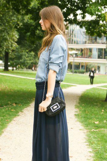 4 Days 4 Ways: How to wear a maxiskirt #3