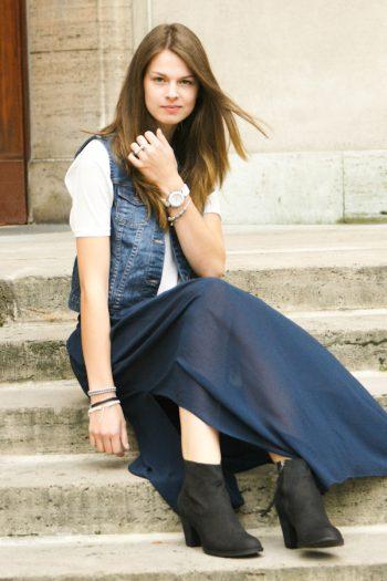4 Days 4 Ways: Wie trägt man einen Maxirock #4