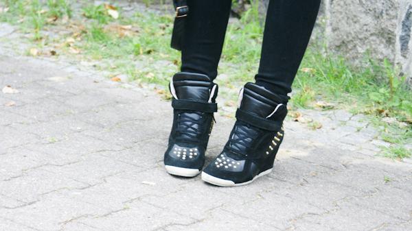 Zara Sneaker Wedges