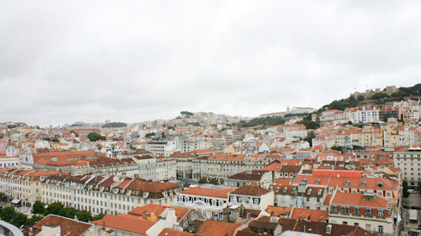 rooftops of Lissabon