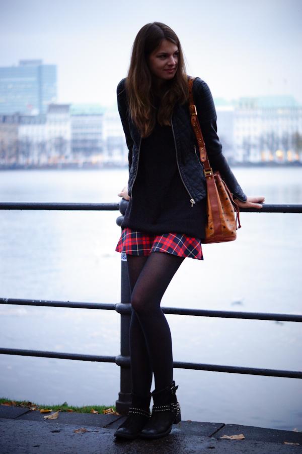Zara Grunge skirt