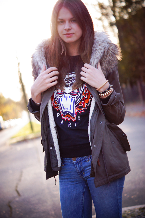 Oasap Tiger sweater
