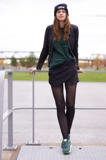 4 Days 4 Ways: How to wear a Skort in Winter #3