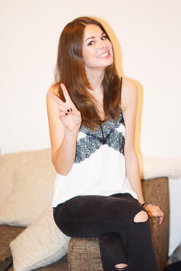 Fashionblogger celebrating NYE
