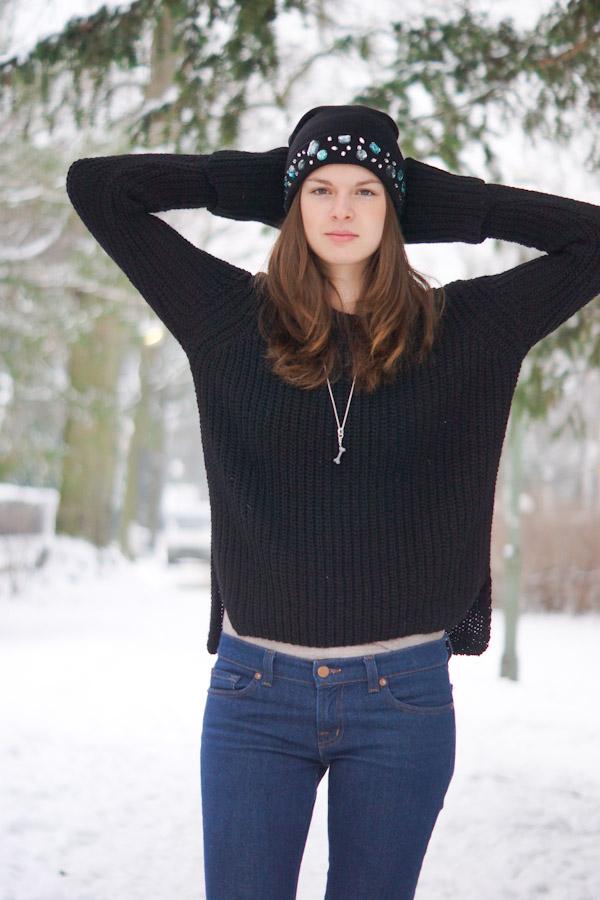 Zara Maxi Pullover