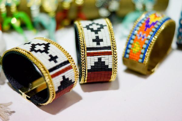 hippie bling armbänder