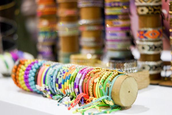 hippie bling with kimandzozi bracelets