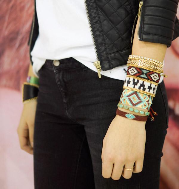 new kimandzozi bracelets from california