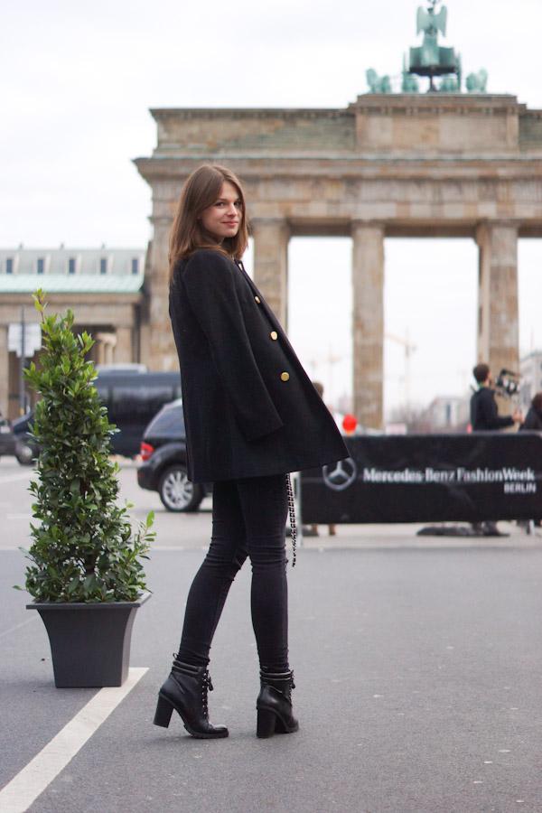 Fashion Week in Berlin January 2014