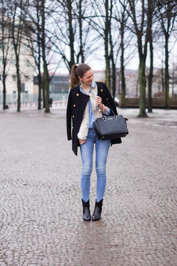 Pimkie Faux Fur Vest