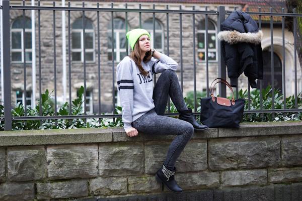 Longchamp Tasche und Snowmass Jacke