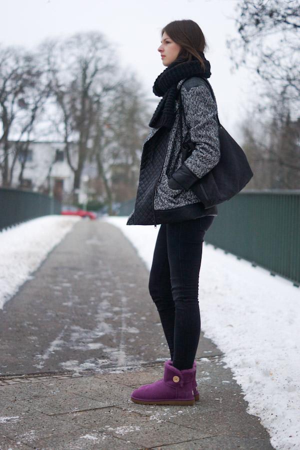 lila UGG Boots