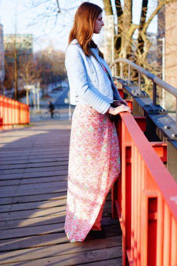 4 Days 4 Ways: How to wear a Pastel Biker Jacket #4
