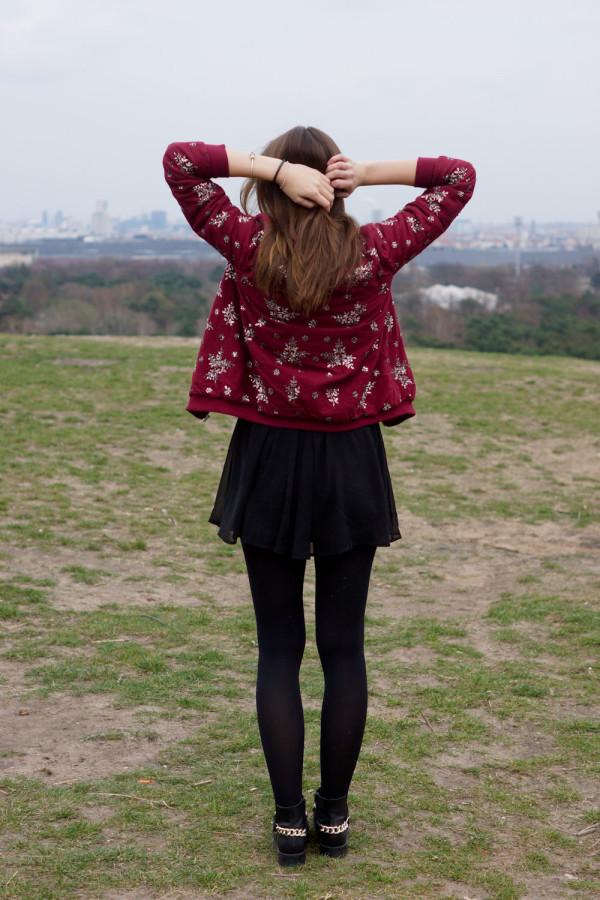 Mode Blog Shooting mit Ausblick über Berlin