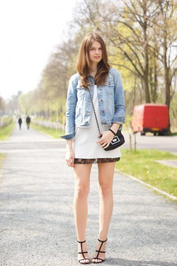 4 Days 4 Ways: How to wear a Denim Jacket #1