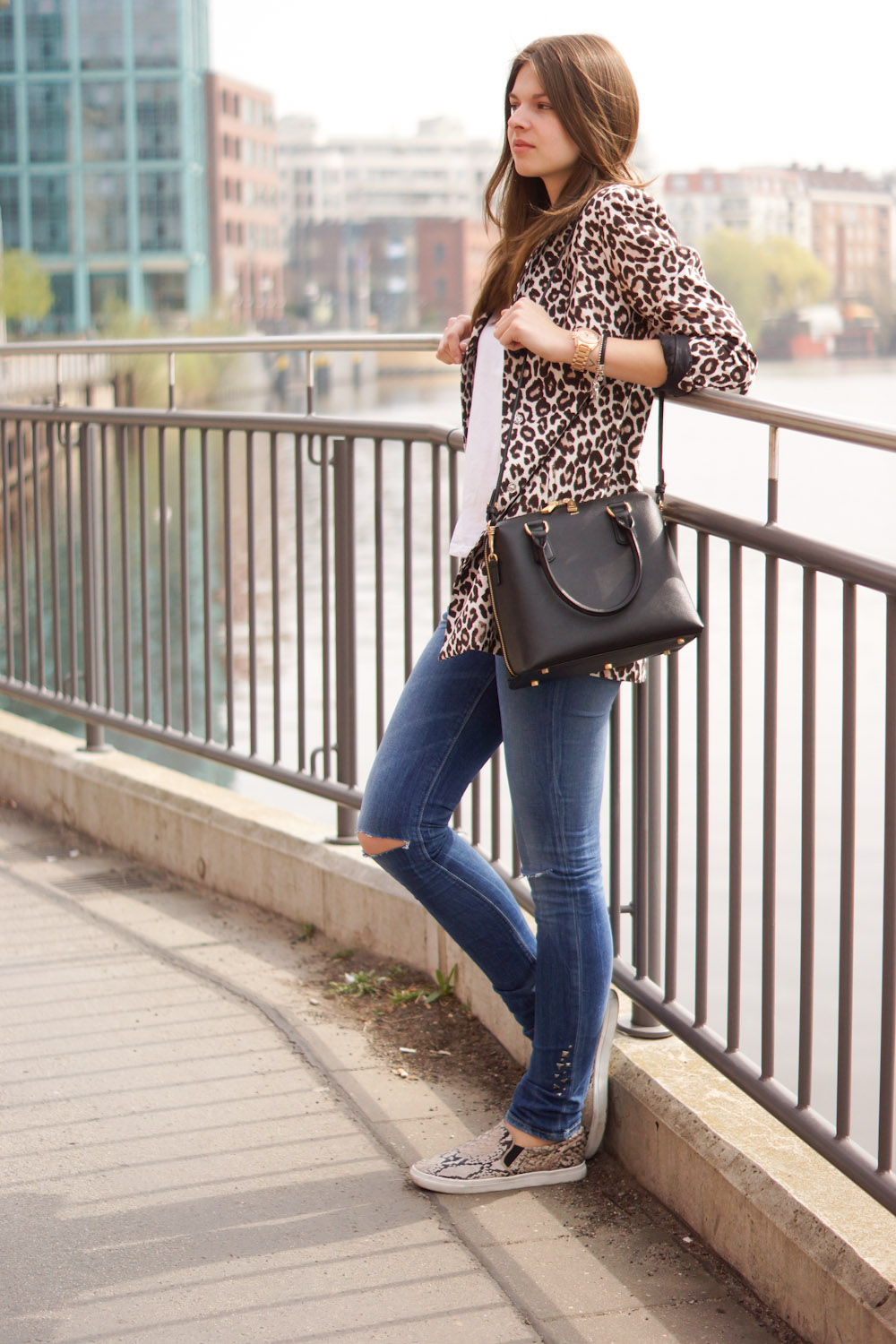 a9a6a8b50b21 Mixing Prints - Leopard and Snake