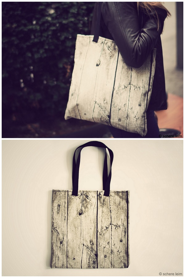 Scandinavian bag diy for Schere leim papier