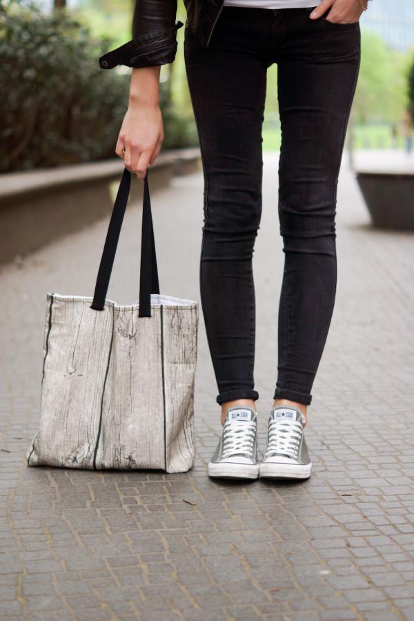 grey Converse Chucks