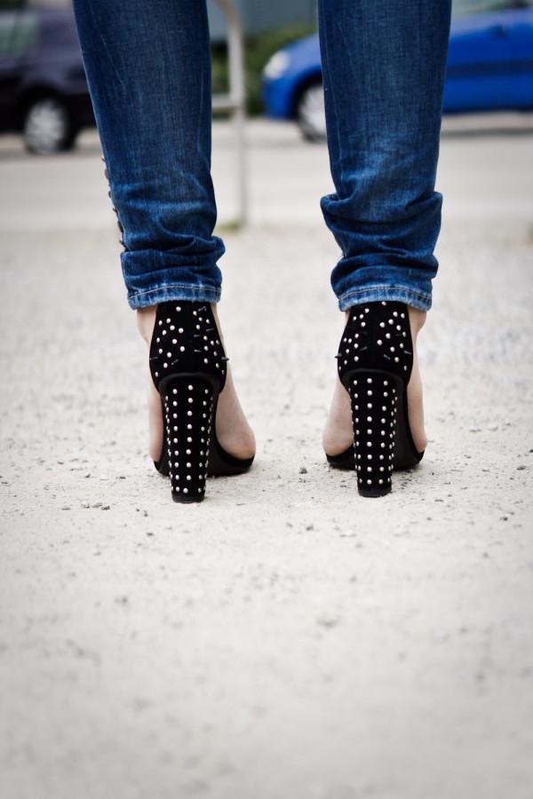 Studded Zara Heels