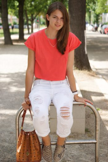 4 Days 4 Ways: How to wear a Boyfriend Jeans Summer Edition #1