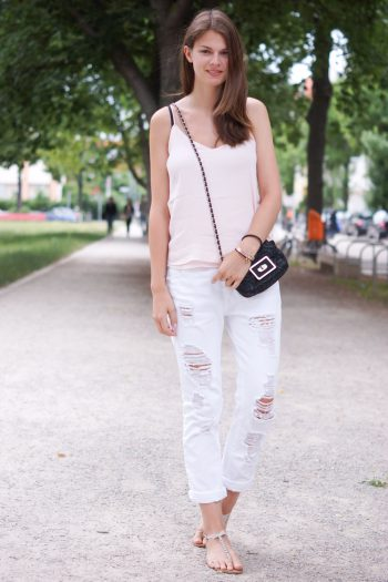 4 Days 4 Ways: How to wear a Boyfriend Jeans Summer Edition #3