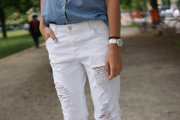 4 Days 4 Ways: How to wear a Boyfriend Jeans Summer Edition 4
