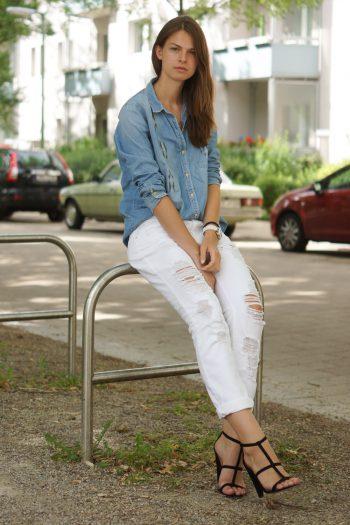 4 Days 4 Ways: Wie trägt man eine Boyfriend Jeans Summer Edition #4