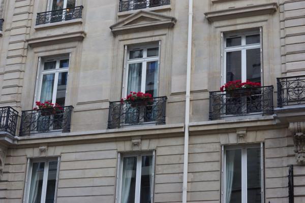 schöne Häuser in Paris