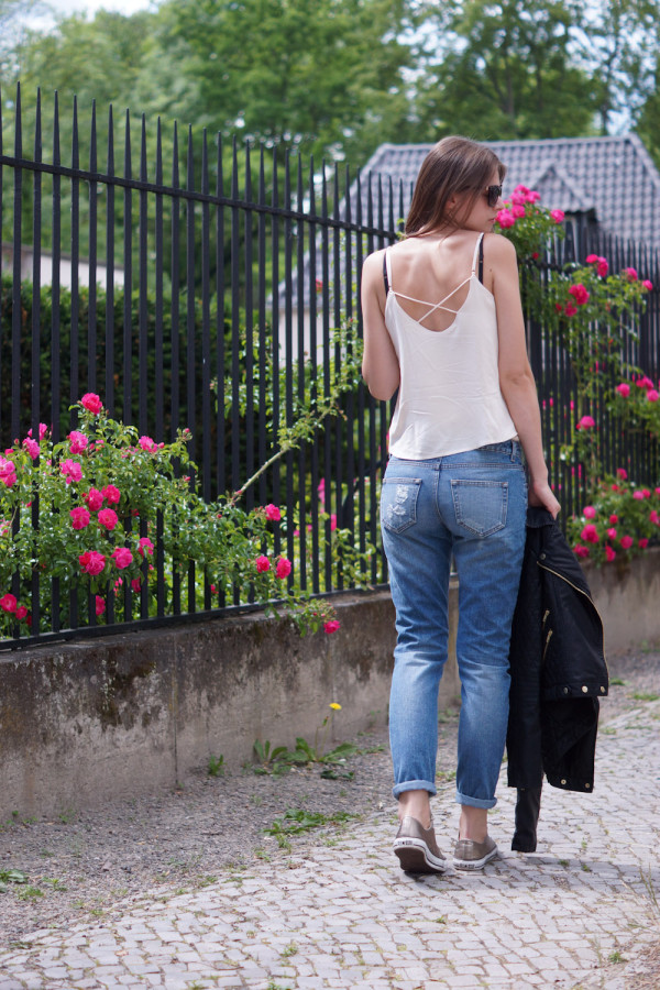 Girlfriend Jeans nicht boyfriend jeans