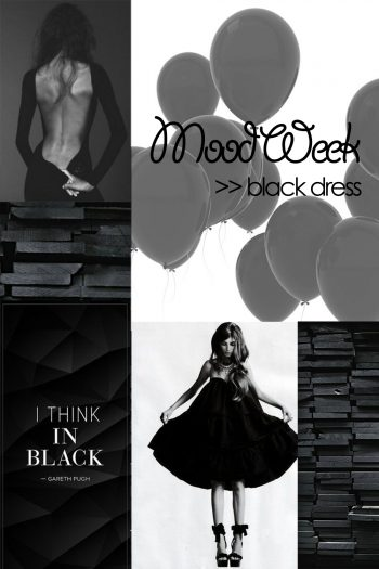 Mood Week: black dress