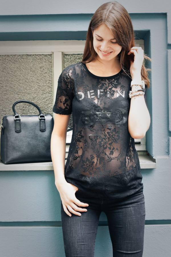 Lace Defend Paris Coexist Shirt