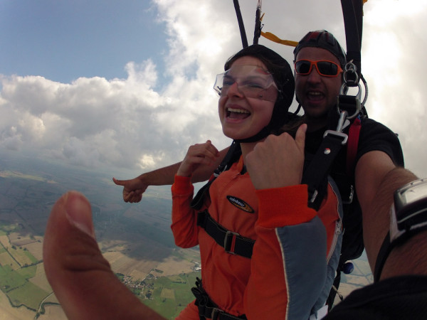 Skydiving with Mydays