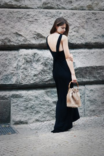 Another Black Maxidress
