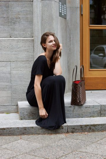 Black Maxidress